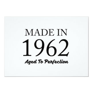 Made In 1962 Card