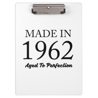 Made In 1962 Clipboard