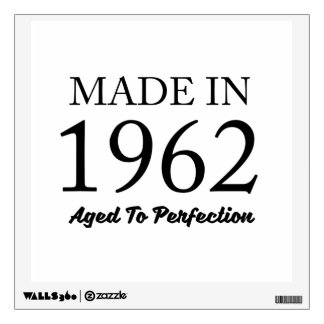 Made In 1962 Wall Sticker