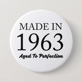 Made In 1963 3 Inch Round Button
