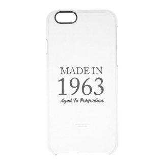 Made In 1963 Clear iPhone 6/6S Case