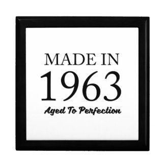 Made In 1963 Gift Box