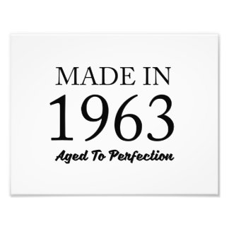 Made In 1963 Photo Print