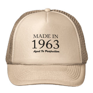 Made In 1963 Trucker Hat