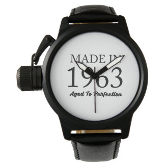 Made In 1963 Watch