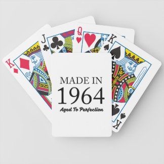 Made In 1964 Bicycle Playing Cards