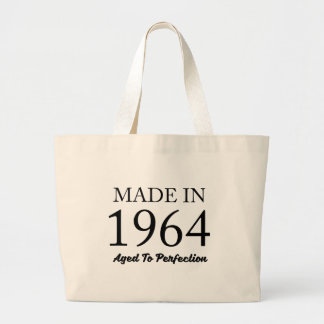 Made In 1964 Large Tote Bag