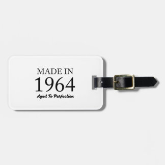 Made In 1964 Luggage Tag