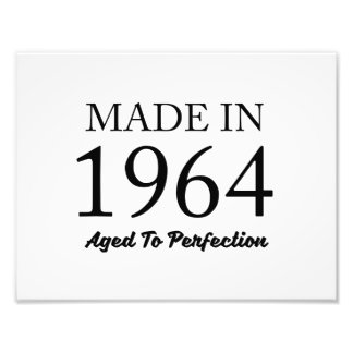 Made In 1964 Photo Print