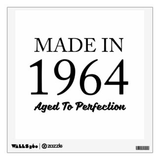 Made In 1964 Wall Decal