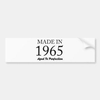 Made In 1965 Bumper Sticker