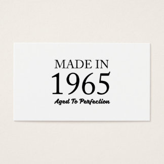 Made In 1965 Business Card