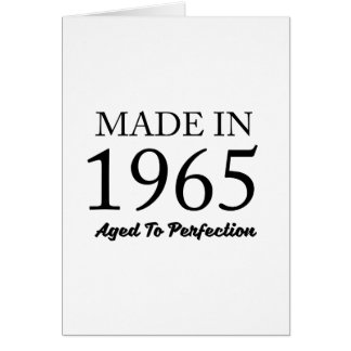 Made In 1965 Card