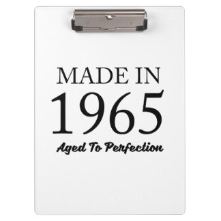 Made In 1965 Clipboard