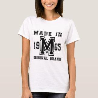 MADE IN 1965 ORIGINAL BRAND BIRTHDAY DESIGNS T-Shirt