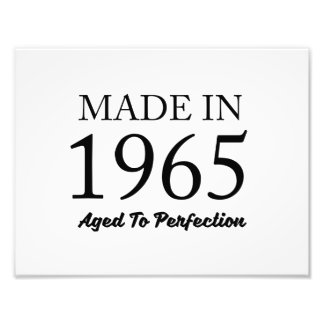 Made In 1965 Photo Print
