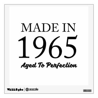 Made In 1965 Wall Decal