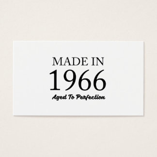 Made In 1966 Business Card