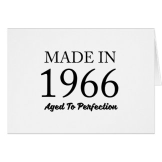 Made In 1966 Card