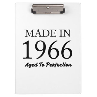 Made In 1966 Clipboard