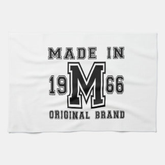 MADE IN 1966 ORIGINAL BRAND BIRTHDAY DESIGNS KITCHEN TOWEL