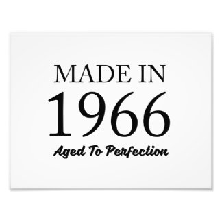 Made In 1966 Photo Print