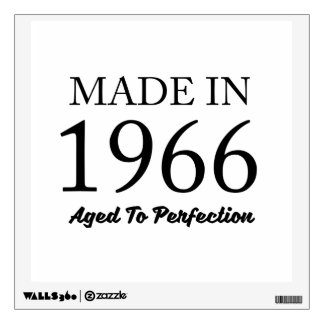 Made In 1966 Wall Decal