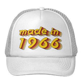 Made in 1966 (Yellow&Red) Trucker Hat