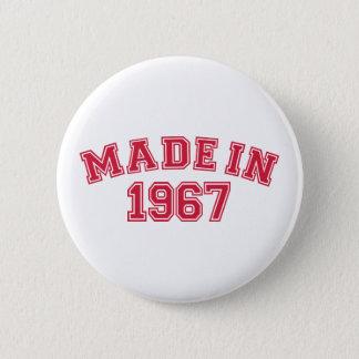 Made in 1967 2 inch round button