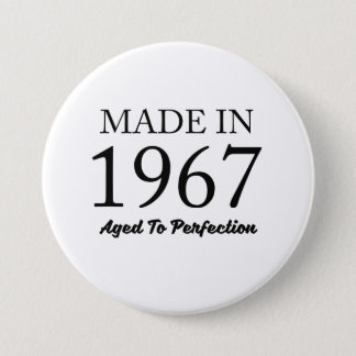 Made In 1967 3 Inch Round Button
