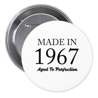 Made In 1967 3 Inch Round Button