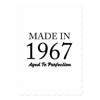 Made In 1967 Card