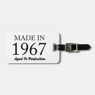Made In 1967 Luggage Tag
