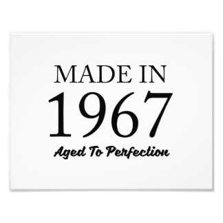 Made In 1967 Photo Print
