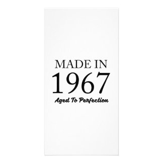 Made In 1967 Picture Card