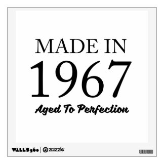 Made In 1967 Wall Sticker