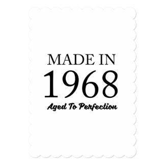 Made In 1968 Card