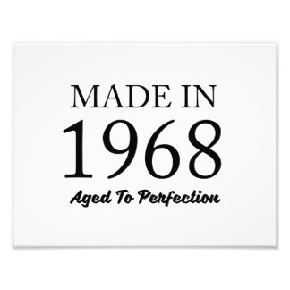 Made In 1968 Photo Art