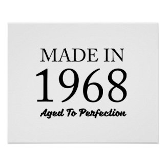 Made In 1968 Poster