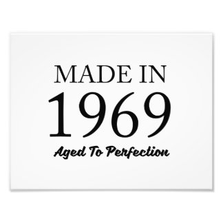 Made In 1969 Photo Print