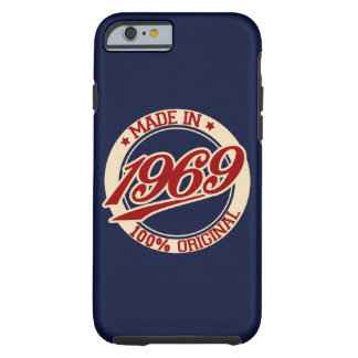 Made In 1969 Tough iPhone 6 Case