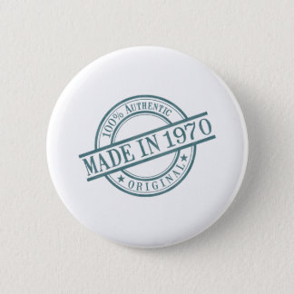 Made in 1970 2 inch round button