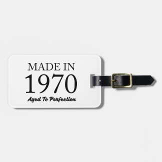 Made In 1970 Bag Tag