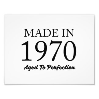 Made In 1970 Photo Print