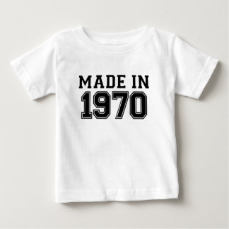 MADE IN 1970.png Baby T-Shirt
