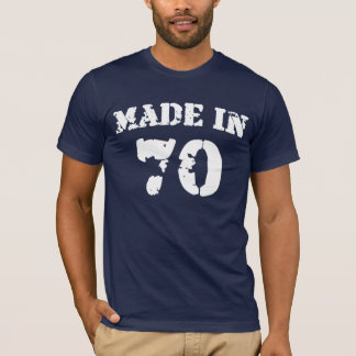 Made In 1970 Shirt
