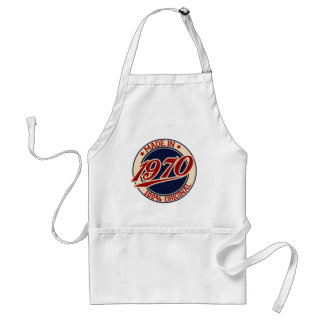 Made In 1970 Standard Apron