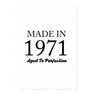 Made In 1971 Card