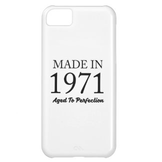 Made In 1971 iPhone 5C Cases