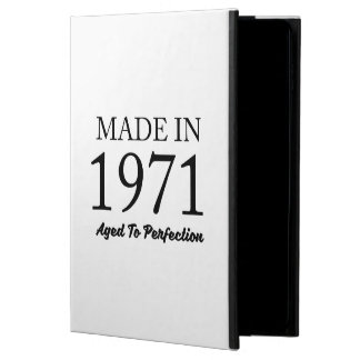 Made In 1971 Powis iPad Air 2 Case